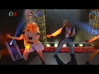 BLONDES - Magic Love Affair (Live Concert 90s Exclusive Techno-Eurodance 1995)