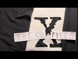 The X-Files. Low cost opening. Секретные Материалы Малобюджетная заставка.