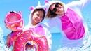 Игры для девочек - Милые Единорожки отдыхают на пляже! - Видео с куклами Беби Бон.