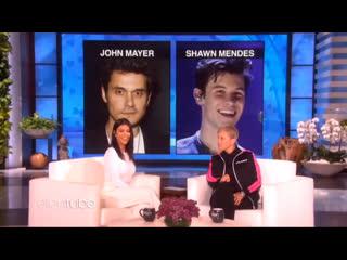 Kourtney Kardashian: John Mayer or Shawn Mendes? The Ellen DeGeneres Show 2019