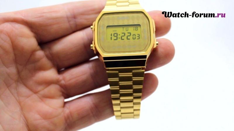 Casio Illuminator A168WG-9W - обзор | Форум о часах Watch-Forum.ru