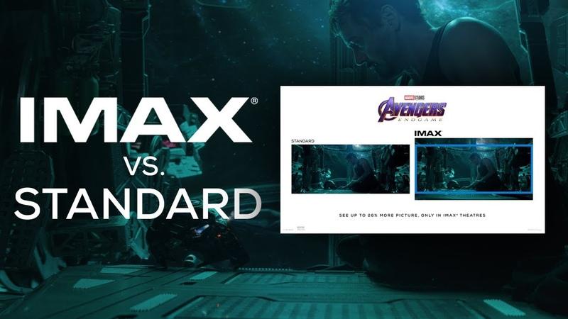 Avengers: Endgame IMAX® Screen vs. Standard Screen   Trailer 1