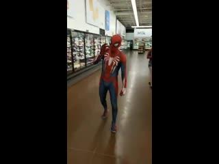 Fucking spider-man @ walmart