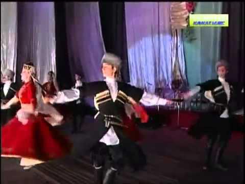 Алим Газаев Къобан джырлайды