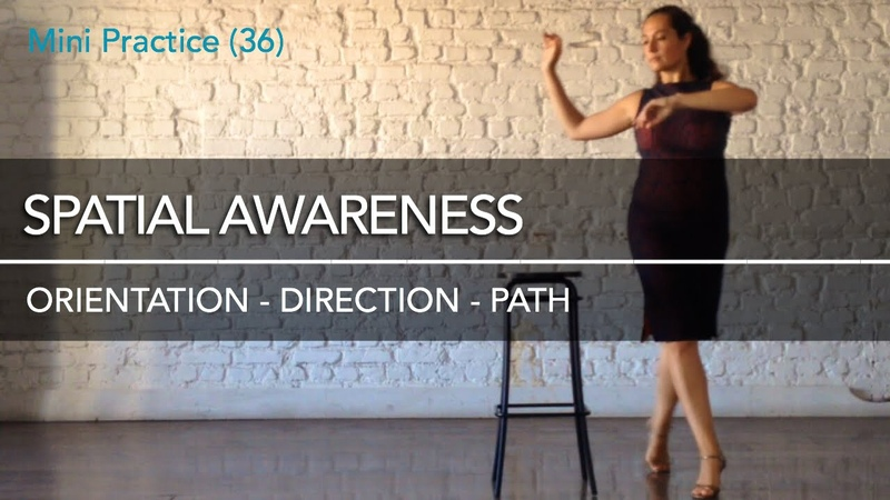 Spatial awareness orientation direction path Mini Practice 36