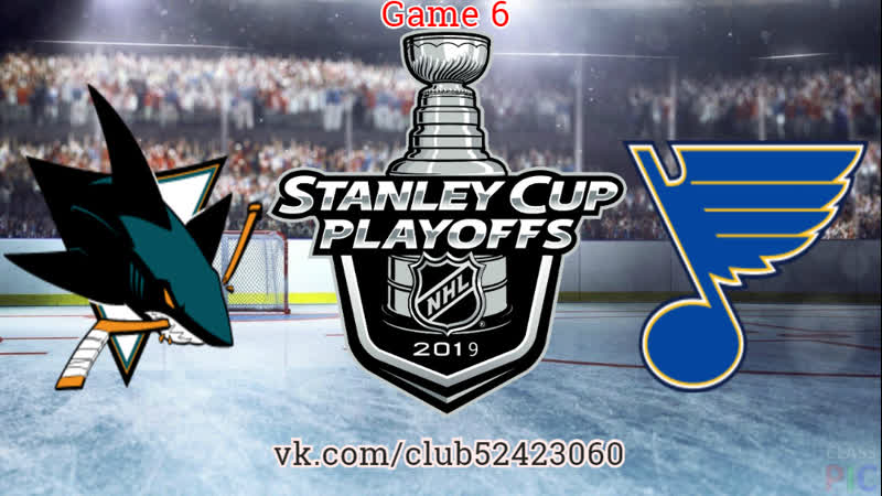 San Jose Sharks vs St. Louis Blues | 21.05.2019 | Western Conference Final | Game 6 | NHL Stanley Cup Playoff 2018-2019