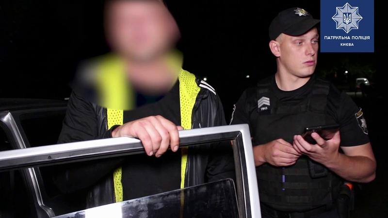 Нетверезий водій читав для патрульних реп та закликав інших водіїв не наслідувати його приклад