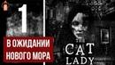 Кошатница. The Cat Lady. Атмосферное прохождение.