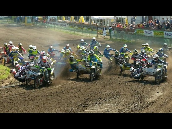 World Championship Sidecarcross 2019 Qualifying Races Oldebroek The Netherlands