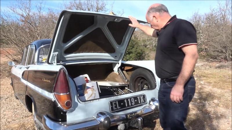 Reportage Simca Chambord sur passion auto sport du var