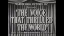 HISTORY OF SOUND IN MOTION PICTURES THE VOICE THAT THRILLED THE WORLD HOLLYWOOD MOVIES 51584