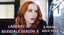 Last day of Riverdale season 3 & moving back to LA | Madelaine Petsch