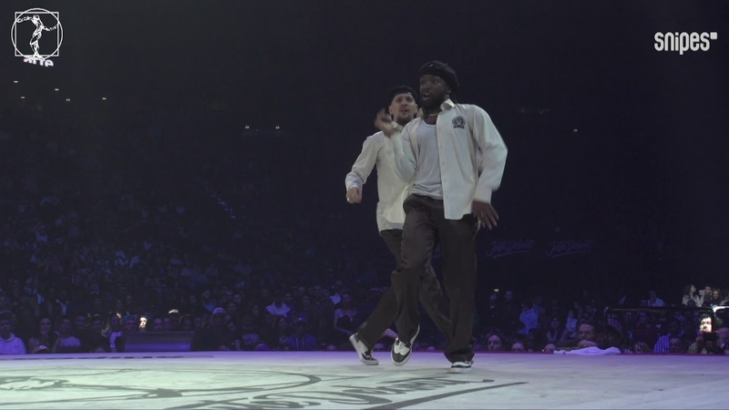 Popping semi final - Juste Debout 2019 - Ness Poppin C vs Kei Gucchon