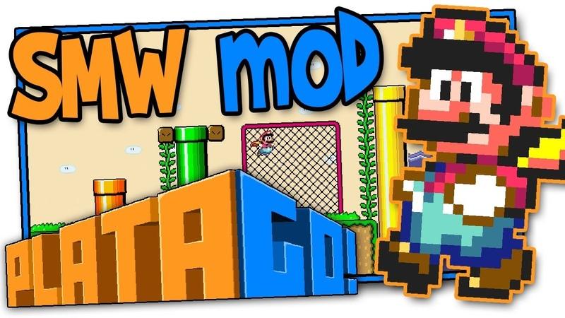 PlataGO Mod Super Mario World Platformer Maker