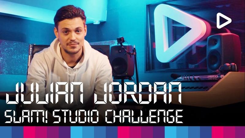 Julian Jordan creates a track in 1 hour | SLAM! Studio Challenge
