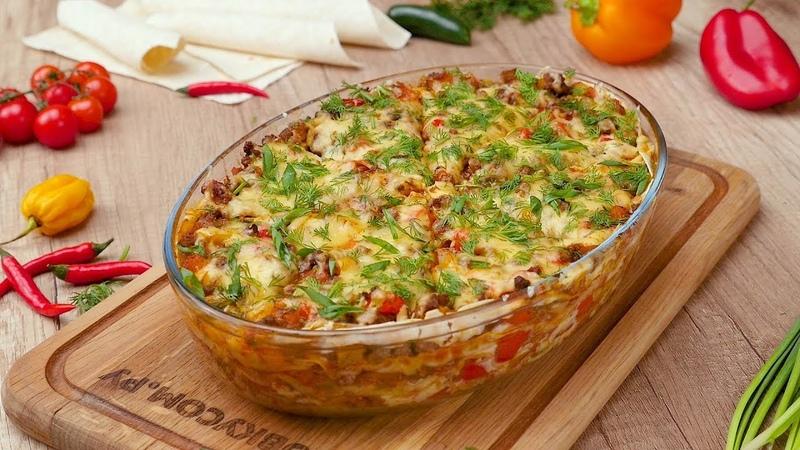 Как приготовить быстрый обед из лаваша - Рецепты от Со Вкусом