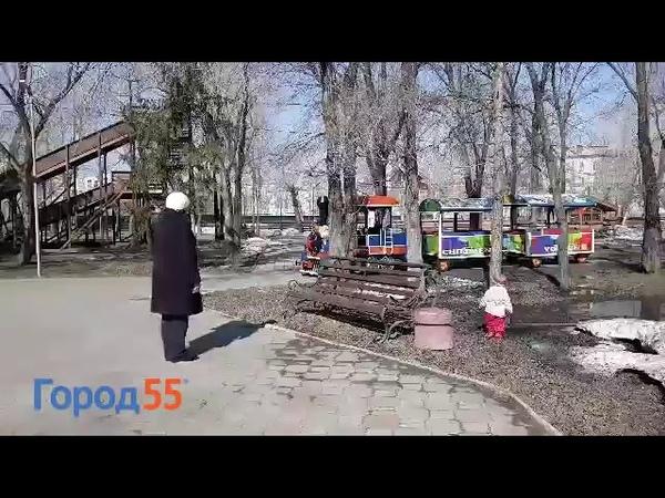 Паравозик под Rammstein в Омске