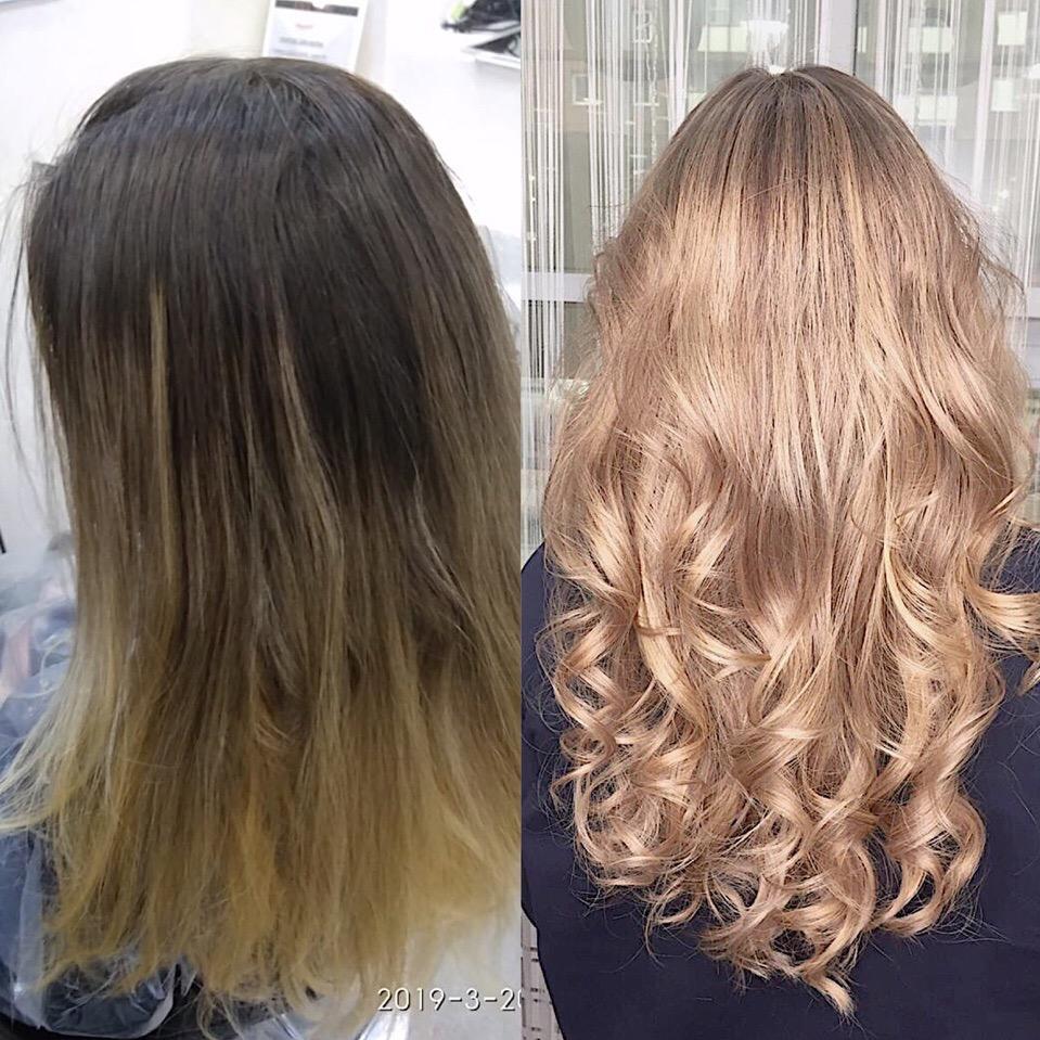 Наращивание волос спб