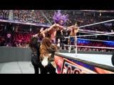 (WWE Mania) The Boss 'N' Hug Connection (Bayley &amp Sasha Banks) (c) vs. Nia Jax &amp Tamina - WWE Women's Tag Team Championship