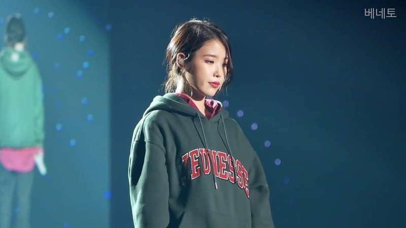 181118 10주년 투어 콘서트 dlwlrma IU - Dear Moon 서울 일요일 앵앵콜 직캠