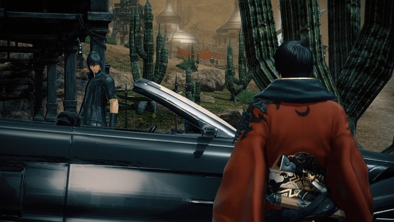FINAL FANTASY XIV x FINAL FANTASY XV Collaboration Trailer About this game Gameplay Trailer