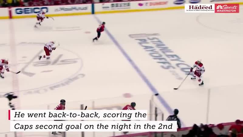 Backstrom continued his fire
