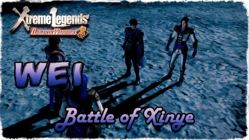 Story Mode ◄ Dynasty Warriors 8 ► Wei 9 Battle of Xinye