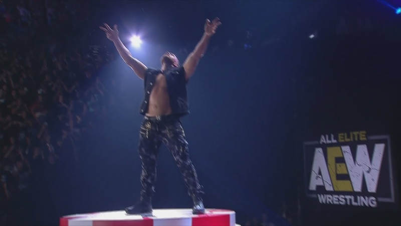 Jon Moxley Debuts In AEW To Deliver Some Deeds!! (Full Debut)   AEW Double Or Nothing