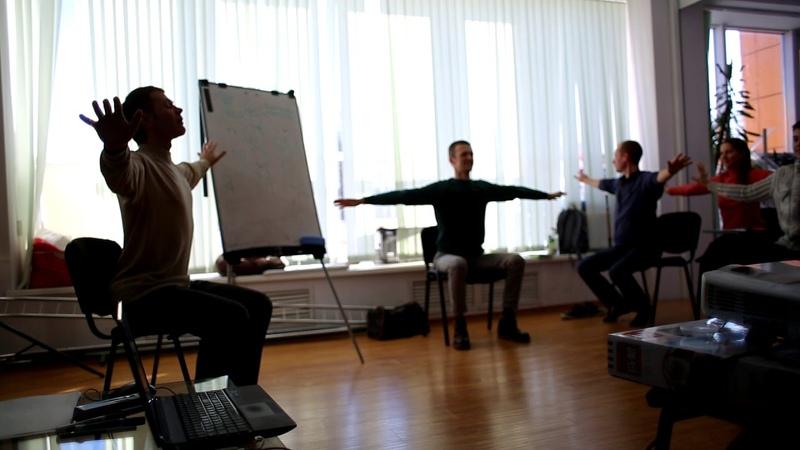 Работа с плечевым поясом Йога для головы