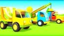 Canción para niños Vehículos de servicio Dibujos animados de coches