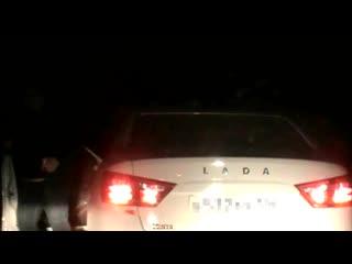 Погоня за пьяным водителем закончилась стрельбой