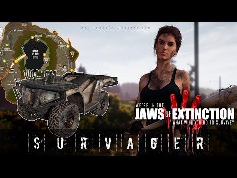 🔥 JAWS Of Extinction alpha Новая выживалка с зомби в открытом мире ПЕРВЫЙ ВЗГЛЯД