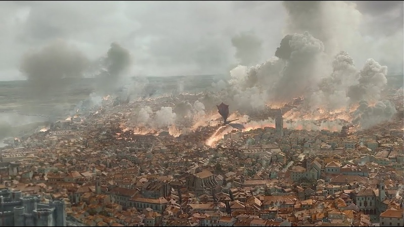 Daenerys Storms King's Landing, but to Metallica's For Whom the Bell Tolls