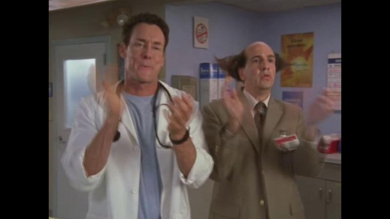Все сцены Клиники со свистом доктора Кокса с 1 по 8 сезон