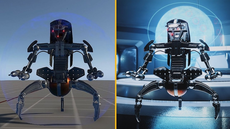 Designing the Droideka for Battlefront II w/ Dennis Brännvall