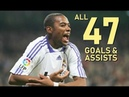 Robinho All 47 Goals Assists For Real Madrid