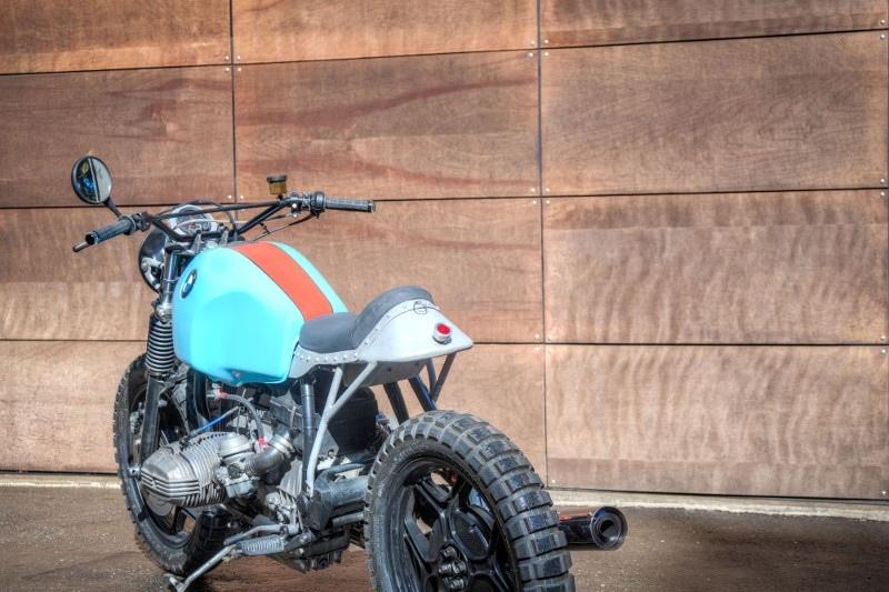Blunk's Garage: скрэмблер BMW R65 Valhalla