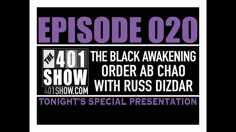 THE 401 SHOW EP 020 Red Horse of Revelation Russ Dizdar The Black Awakening