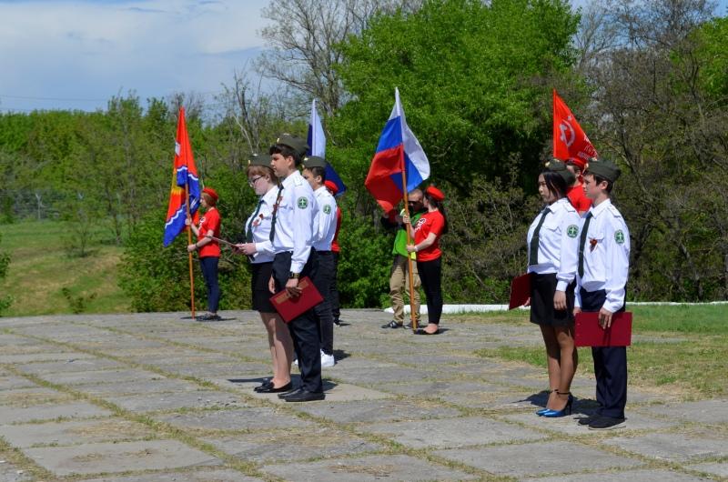 Под Таганрогом в преддверии Дня Победы состоялся межведомственный мотопробег по местам боевой славы