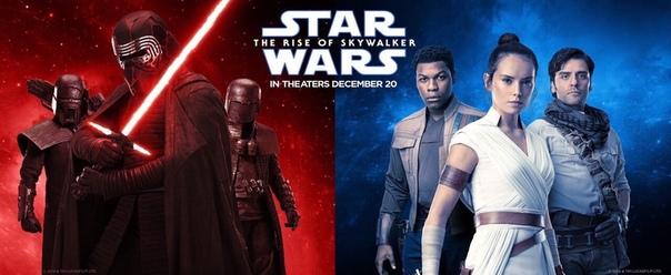 Новый промо-афишы фантастики «Звёздные войны. Скайуокер. Восход»