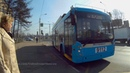 Троллейбус 53 платформа Новогиреево - метро Таганская