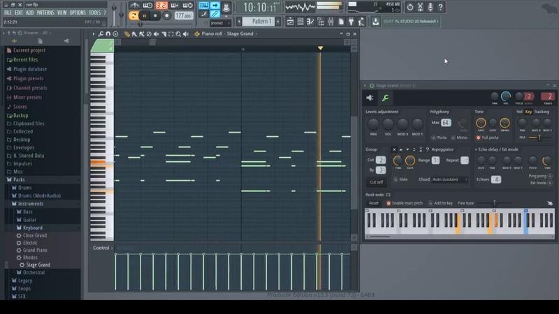 Yann Tiersen Rue des Cascades FL Studio 12