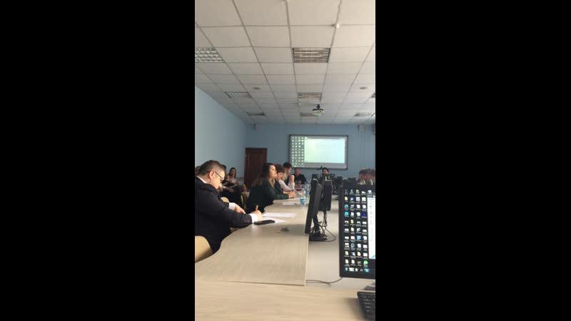 Защита проектов стартапов студентов ОГУ Института менеджмента в рамках «Школы лидерства»