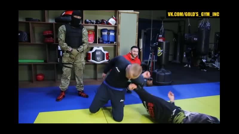 Бросок Мельница в Борьбе - Инструктор Спецназа Шторм.mp4