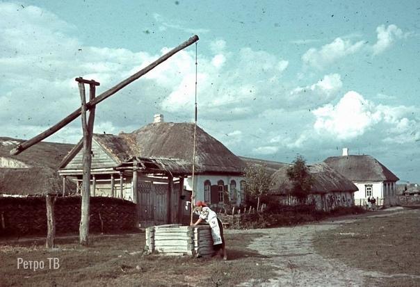 Украина в 1942-43-х годах в цвете. Спасибо за и подписку