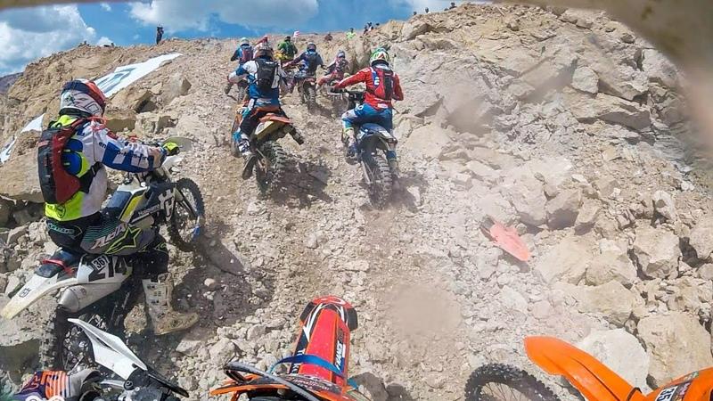 Erzberg Rodeo XX5 | Hare Scramble | GoPro Actions | 7th Row Start