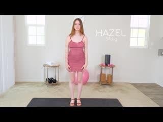 hazel moore (the cute fitness nymho girl next door hazel moore initial casting) [big tits, blowjob, creampie]