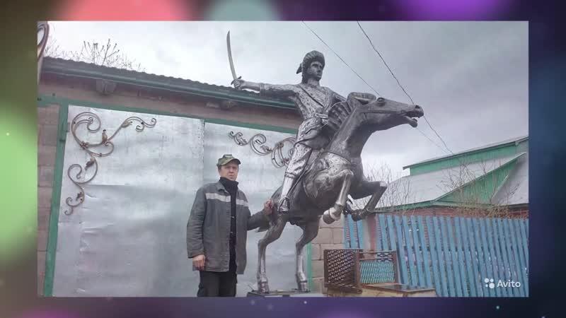 Скульптор Олег Андреев (Бижбулякский район, проект «Любимые художники Башкирии»)