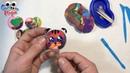 Лепим из Пластилина Плей До. Учим Цвета. Развивающее видео для детей