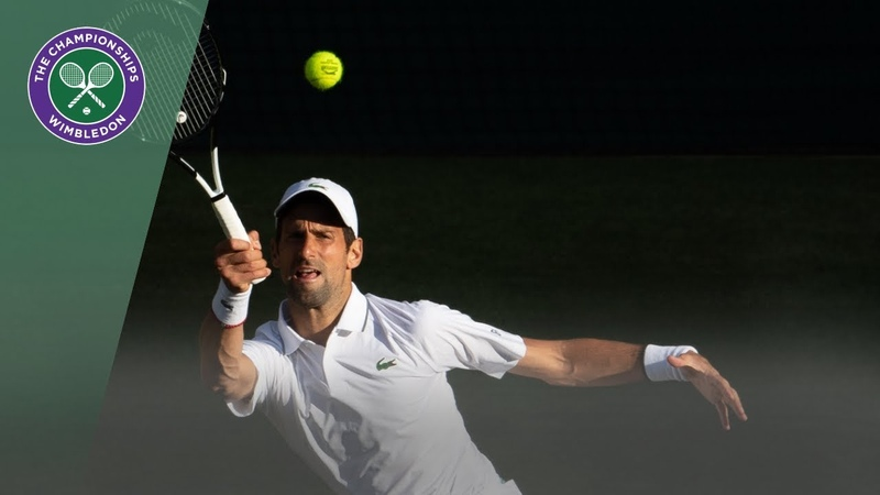 Second Round Highlights, Novak Djokovic vs Denis Kudla Wimbledon 2019